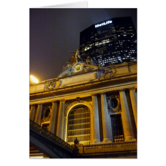 grand central nyc greeting card