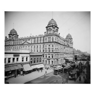 Grand Central Station: 1900 Poster