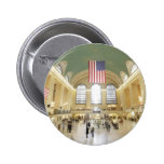 Grand Central Station 2 Inch Round Button