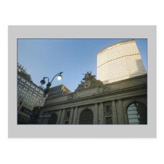 Grand Central Station & Met Life Building Postcard
