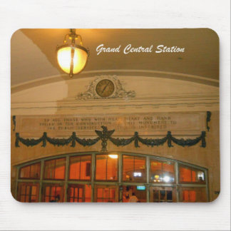 Grand Central Station Mouse Pads