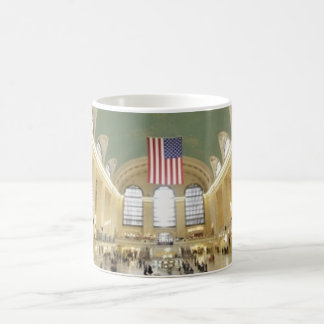 Grand Central Station Classic White Coffee Mug