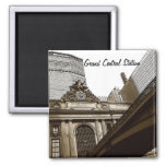 Grand Central Station, New York 2 Inch Square Magnet