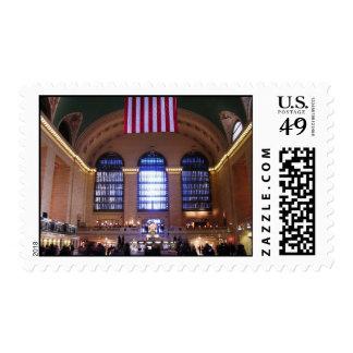 Grand Central Station, New York City, NY Postage