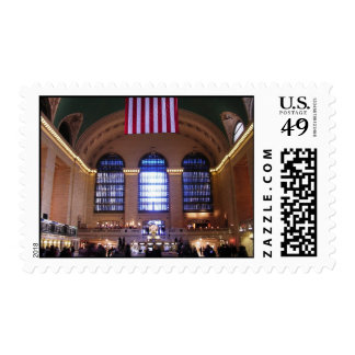 Grand Central Station, New York City, NY Stamp