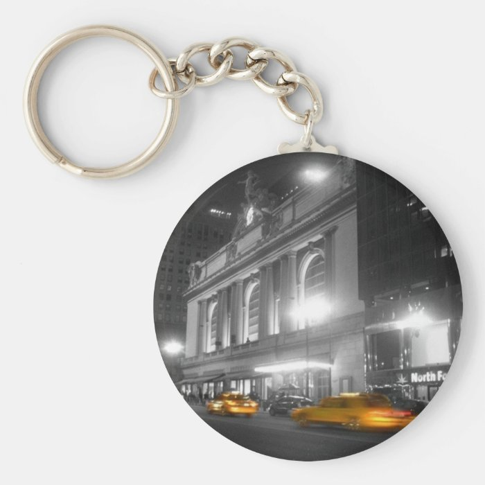 Grand Central Station New York Keychain