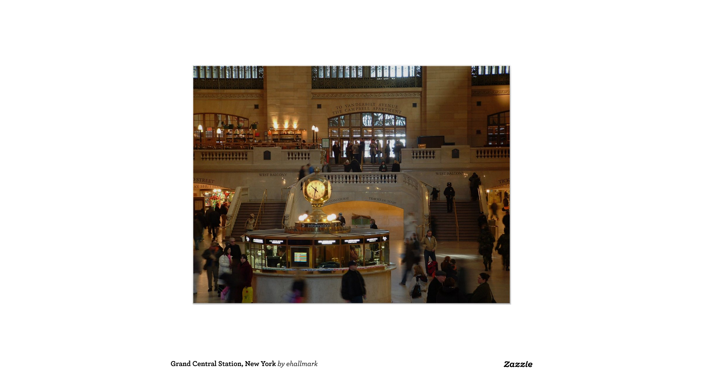 Grand central station new york poster for Grand tableau new york