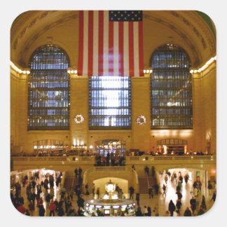 Grand Central Station New York Square Sticker