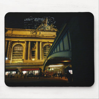 Grand Central Station - Night - New York City Mouse Pads