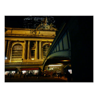 Grand Central Station - Night - New York City Posters