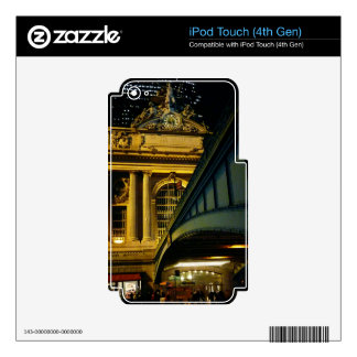 Grand Central Station - Night - New York City iPod Touch 4G Decals