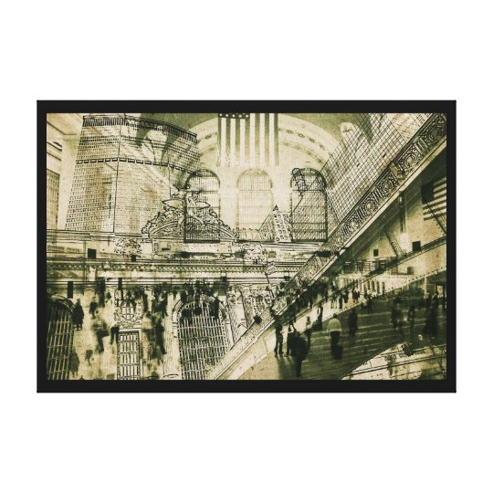 Grand Central Station, NYC, canvas print
