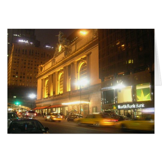 Grand Central Station, NYC Card