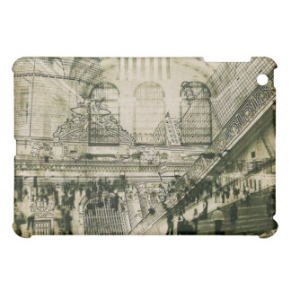 Grand Central Station, NYC collage i-pad case iPad Mini Cover