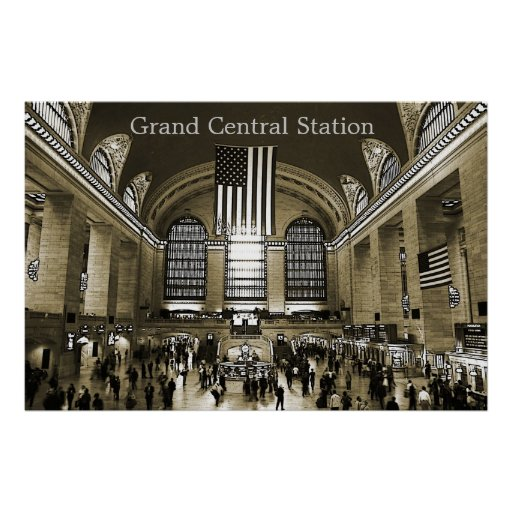 Grand Central Station, NYC, poster