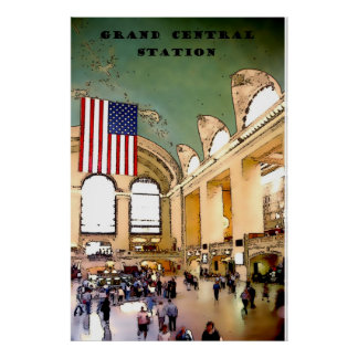 GRAND CENTRAL STATION, NYC poster