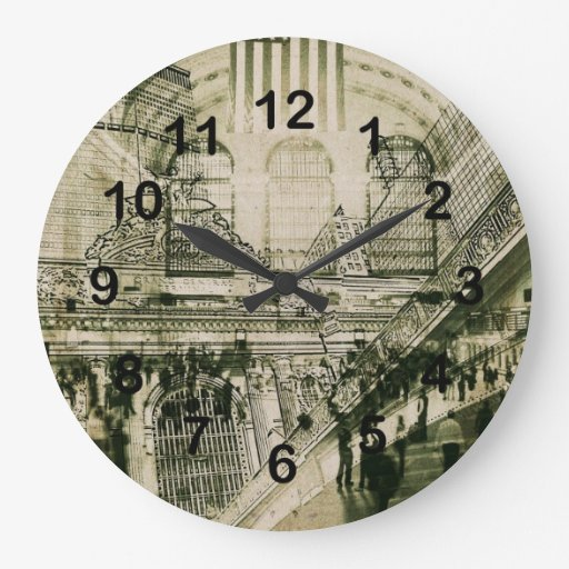 Grand central Station, NYC Round Wall Clock