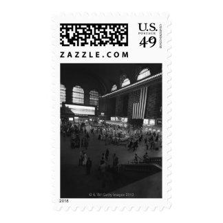 Grand Central Station Stamp