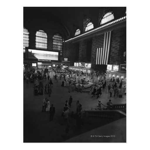 Grand Central Station Post Card