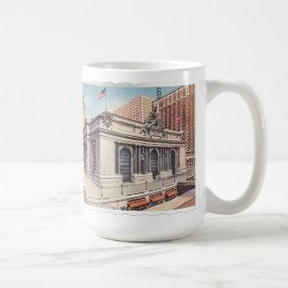 Grand Central Terminal New York City Classic White Coffee Mug