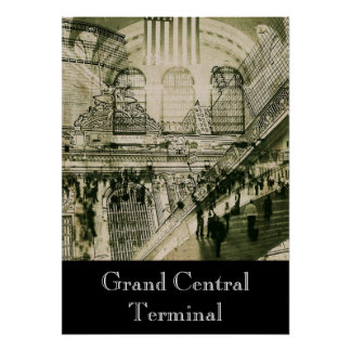 Grand Central Terminal , New York Posters