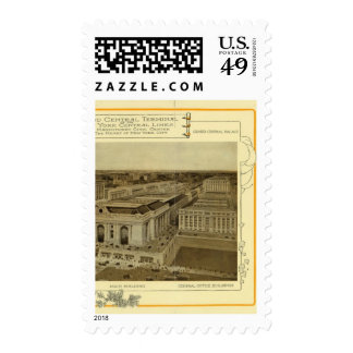 Grand Central Terminal Postage