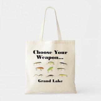 grand choose weapon tote bag