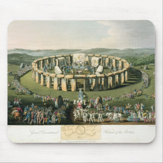 Grand Conventional Festival of the Britons, aquati Mouse Pad