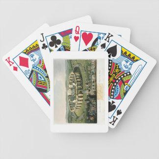 Grand Conventional Festival of the Britons, aquati Poker Cards
