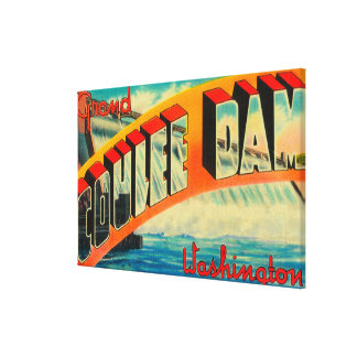 Grand Coulee Dam, Washington Gallery Wrap Canvas