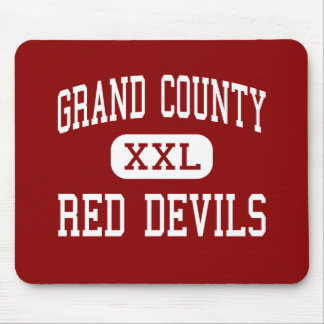 Grand County - Red Devils - High - Moab Utah Mouse Pad