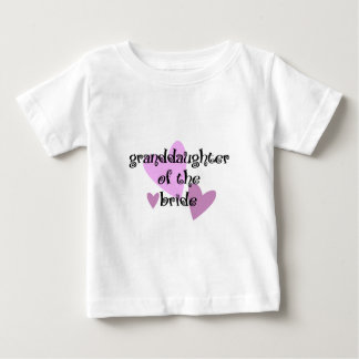 Grand Daughter of the Bride Baby T-Shirt