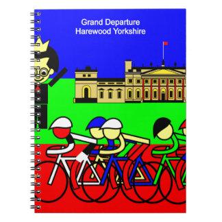 Grand Departure Harewood Yorkshire Notebook