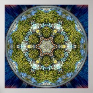 Grand Design Mandala Poster