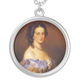 Grand Duchess Alexandra Iosifovna Round Pendant Necklace