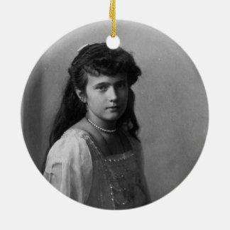 Grand Duchess Anastasia Nikolaevna of Russia Ceramic Ornament