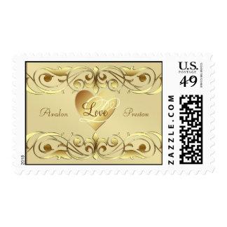 Grand Duchess Gold Love  Postage Stamp