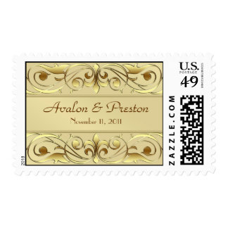 Grand Duchess Gold Save The Date  Postage
