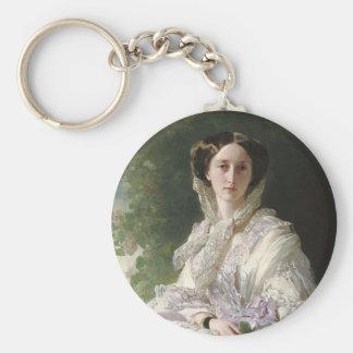 Grand Duchess Olga Basic Round Button Keychain