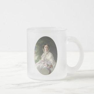 Grand Duchess Olga Frosted Glass Coffee Mug