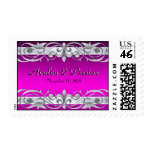 Grand Duchess Silver Save The Date Pink Postage