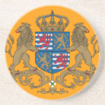 Grand Duke Of Luxembourg, Luxembourg flag Drink Coasters