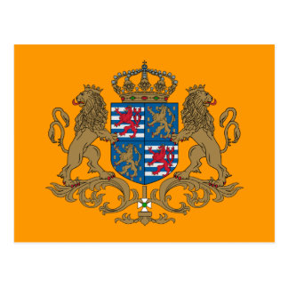 Grand Duke Of Luxembourg Luxembourg flag Post Cards