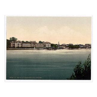 Grand Duke's Castle, Biebrich, the Rhine, Germany Postcard