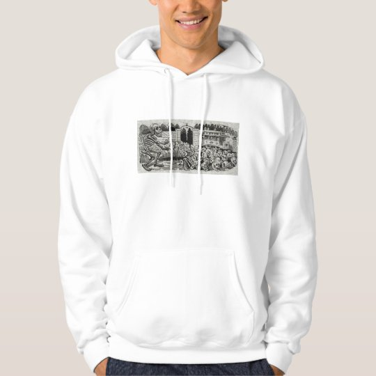Grand electric skull  Hooded Sweatshirt