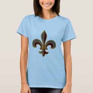 Grand Fleur-de-lis - Ladies Baby Doll T-Shirt