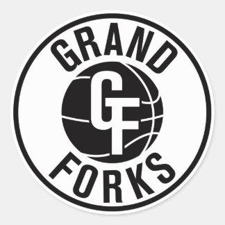 Grand Forks SWAT Classic Round Sticker