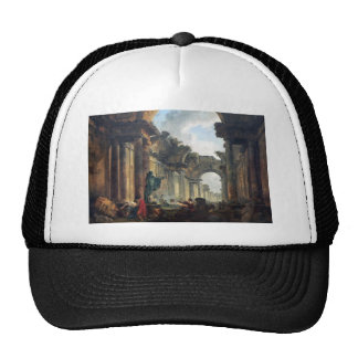 Grand Gallery of the Louvre in Ruins - 1796 Trucker Hat