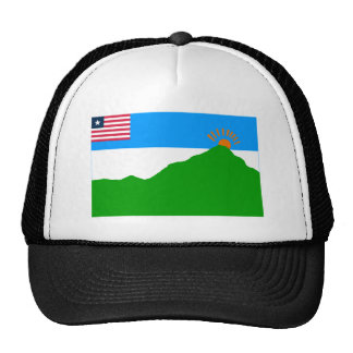 Grand Gedeh County Flag Trucker Hat