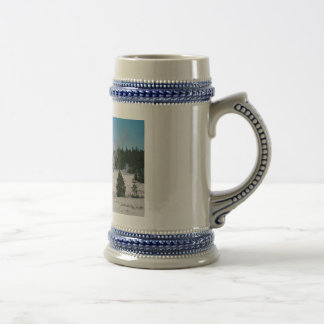 Grand Geyser Beer Stein